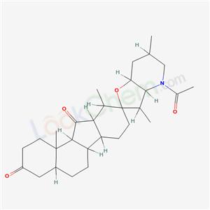 7505-25-1,JERVONE, N-ACETYLTETRAHYDRO-,
