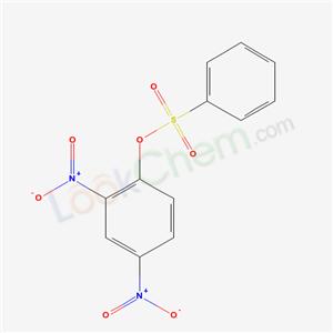 970-88-7,1-(benzenesulfonyloxy)-2,4-dinitro-benzene,