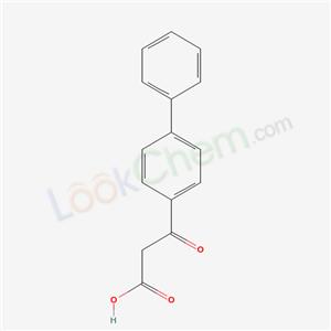 7497-69-0,3-oxo-3-(4-phenylphenyl)propanoic acid,