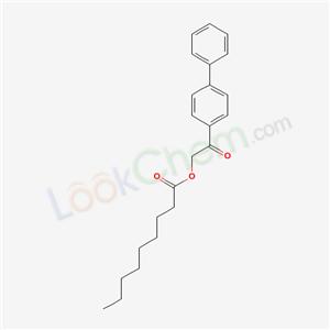 4376-36-7,[2-oxo-2-(4-phenylphenyl)ethyl] nonanoate,