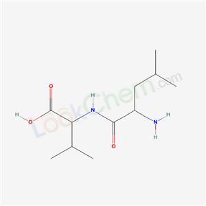 72121-02-9,2-[(2-amino-4-methyl-pentanoyl)amino]-3-methyl-butanoic acid,