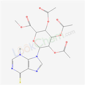 67693-47-4,methyl 3,4,5-triacetyloxy-6-(6-sulfanylidene-3H-purin-9-yl)oxane-2-carboxylate,