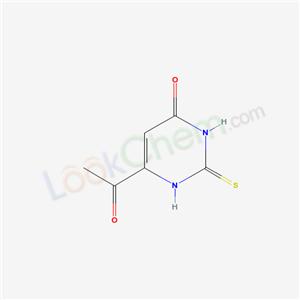 7597-77-5,6-acetyl-2-sulfanylidene-1H-pyrimidin-4-one,