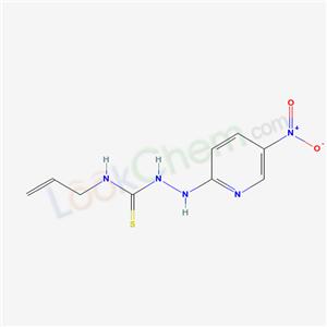 6300-82-9,1-[(5-nitropyridin-2-yl)amino]-3-prop-2-enyl-thiourea,
