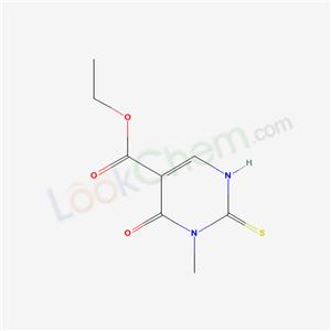 7506-89-0,ethyl 1-methyl-6-oxo-2-sulfanylidene-3H-pyrimidine-5-carboxylate,