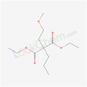 20591-90-6,DIETHYL (2-METHOXYETHYL)PROPYLPROPANEDIOATE,