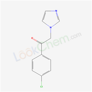 24155-32-6,1-(4-Chlorophenyl)-2-(1h-imidazol-1-yl)-1-ethanone,Ethanone, 1-(4-chlorophenyl)-2-(1H-imidazol-1-yl)-;
