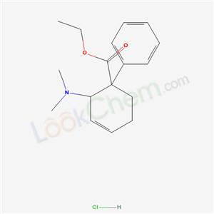20380-60-3,ethyl 2-dimethylamino-1-phenyl-cyclohex-3-ene-1-carboxylate hydrochloride,