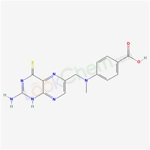 51471-54-6,4-[(2-amino-4-sulfanylidene-1H-pteridin-6-yl)methyl-methyl-amino]benzoic acid,