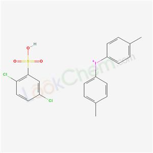 CAS NO:6293-69-2 bis(4-methylphenyl)iodanium; 2,5-dichlorobenzenesulfonic acid Molecular Structure