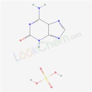 Molecular Structure of 49722-90-9 (6-Amino-2-hydroxypurine)