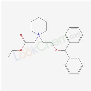 6322-71-0,ethyl 2-[1-(2-benzhydryloxyethyl)-3,4,5,6-tetrahydro-2H-pyridin-1-yl]acetate,
