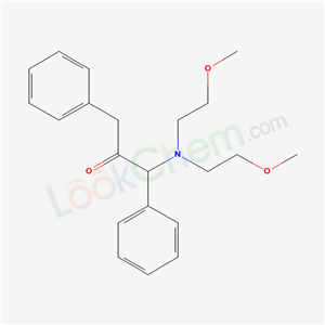 6322-32-3,1-(bis(2-methoxyethyl)amino)-1,3-diphenyl-propan-2-one,