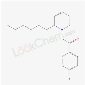 449-41-2,1-(4-fluorophenyl)-2-(2-hexyl-2H-pyridin-1-yl)ethanone,