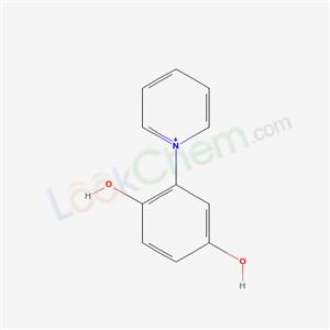6266-94-0,2-pyridin-1-ylbenzene-1,4-diol,
