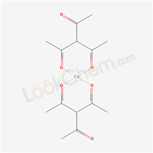 21158-02-1,3-acetylpentane-2,4-dione; copper,
