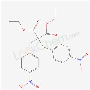 7142-69-0,diethyl 2,2-bis[(4-nitrophenyl)methyl]propanedioate,