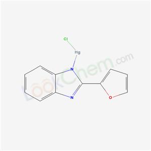 6637-21-4,chloromercury; 2-(2-furyl)benzoimidazole,
