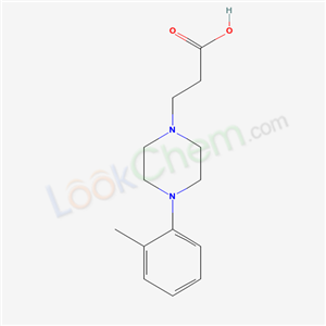 72822-25-4,3-[4-(2-methylphenyl)piperazin-1-yl]propanoic acid,