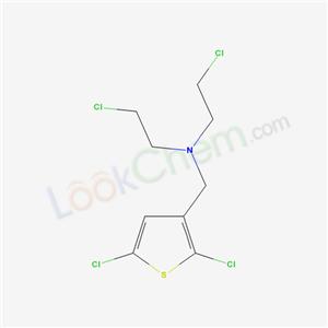 13668-92-3,3-Thienylamine, N,N-bis(2-chloroethyl)-2,5-dichloro-, hydrochloride,