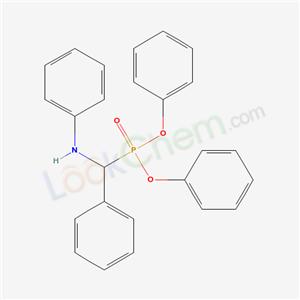 3360-68-7,N-(diphenoxyphosphoryl-phenyl-methyl)aniline,