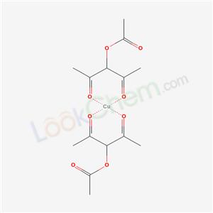 27970-17-8,copper; 2,4-dioxopentan-3-yl acetate,