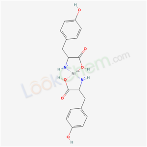 21809-71-2,[1-carboxy-2-(4-hydroxyphenyl)ethyl]azanide; nickel(+2) cation,