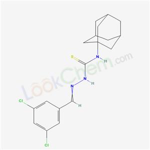 32403-18-2,3-(1-adamantyl)-1-[(3,5-dichlorophenyl)methylideneamino]thiourea,