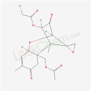 77620-57-6,Trichothec-9-ene-3,8-dione, 15-(acetyloxy)-4-[(chloroacetyl)oxy]-12,13-epoxy-, (4.beta.)-,