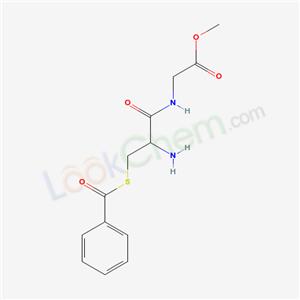 2541-54-0,methyl 2-[(2-amino-3-benzoylsulfanyl-propanoyl)amino]acetate,