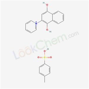 7477-75-0,4-methylbenzenesulfonic acid; 2-pyridin-1-ylnaphthalene-1,4-diol,