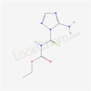19923-09-2,ethyl N-(5-amino1,2,4-triazole-1-carbothioyl)carbamate,