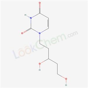69895-61-0,1-(3,5-Dihydroxypent-1-yl)uracil,