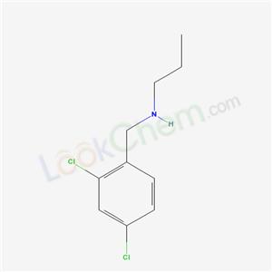 39180-81-9,Benzenemethanamine, 2,4-dichloro-N-propyl-,