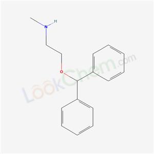 N Methylethanamine 2-benzhydryloxy-N-meth...