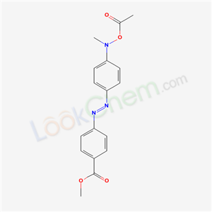55936-76-0,4′-METHOXYCARBONYL-N-ACETOXY-N-METHYL-4-AMINOAZOBENZENE			,