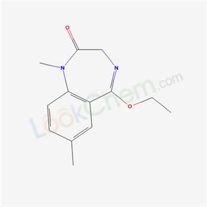 62903-65-5,1,7-Dimethyl-5-ethoxy-3H-1,4-benzodiazepin-2(1H)-one,