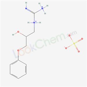 63273-74-5,(azaniumylcarbonimidoyl)-(2-hydroxy-3-phenoxy-propyl)azanium sulfate,