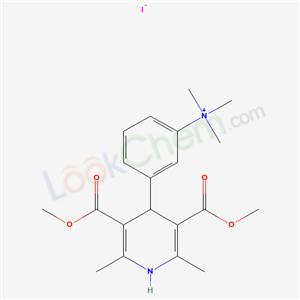 66941-33-1,AMMONIUM, (m-(1,4-DIHYDRO-3,5-DIMETHOXYCARBONYL-2,6-DIMETHYL-4-PYRIDYL)PHENYL)TR,