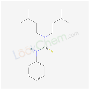 56438-21-2,1,1-bis(3-methylbutyl)-3-phenyl-thiourea,