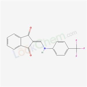 6476-24-0,2-[[[4-(trifluoromethyl)phenyl]amino]methylidene]indene-1,3-dione,