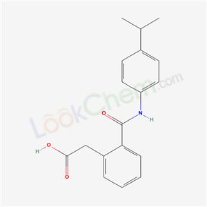 6477-14-1,2-[2-[(4-propan-2-ylphenyl)carbamoyl]phenyl]acetic acid,