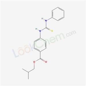 5194-34-3,2-methylpropyl 4-(phenylthiocarbamoylamino)benzoate,