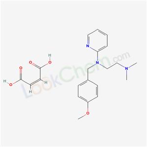 Mepyramine maleate(59-33-6)
