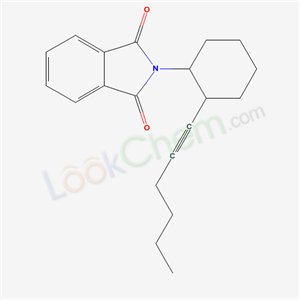 2-(2-Hex-1-ynylcyclohexyl)isoindole-1,3-Dione(76-46-0)