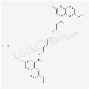 6286-09-5,N,N-Bis(2-methyl-6-methoxy-4-quinaldyl)-1,9-diamino- nonane Dihydrochloride Hydrate,