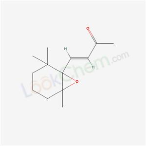 Molecular Structure of 36340-49-5 (3-Buten-2-one, 4-(2,2,6-trimethyl-7-oxabicyclo(4.1.0)hept-1-yl)-, (E)-)
