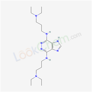 3438-70-8,N,N-bis(3-diethylaminopropyl)-3,4,7,9-tetrazabicyclo[4.3.0]nona-2,4,7,10-tetraene-2,5-diamine,