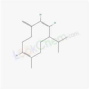 CAS NO:37839-63-7 Germacrene D Molecular Structure