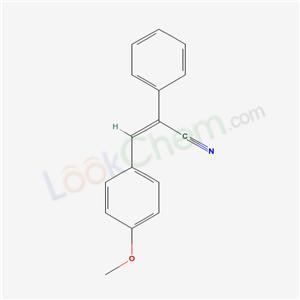 5432-07-5,(Z)-3-(4-methoxyphenyl)-2-phenyl-prop-2-enenitrile,